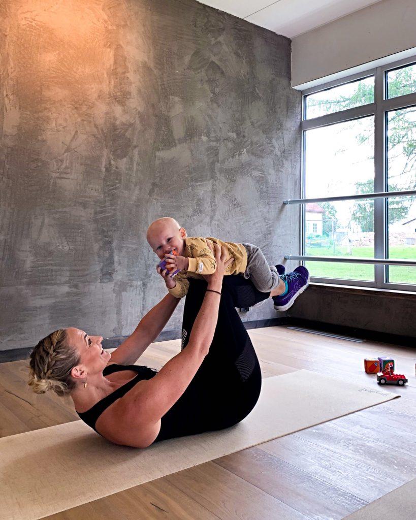 Mamma-Barn träning